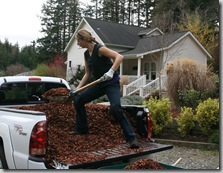 Post image for Your Gardening Body: How to Scoop Mulch and Use a Wheelbarrow Without Strain or Pain