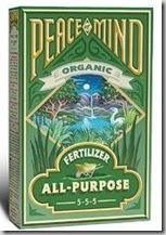 Peace of Mind Organic Fertilizer