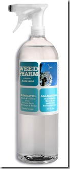 Weed Pharm vinegar weed killer