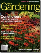 Fine Gardening Cover August 2010