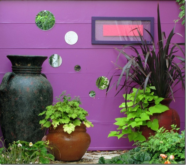 The purple wall! By Garden Up!
