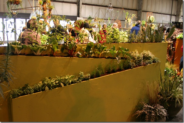 vertical gardening wall