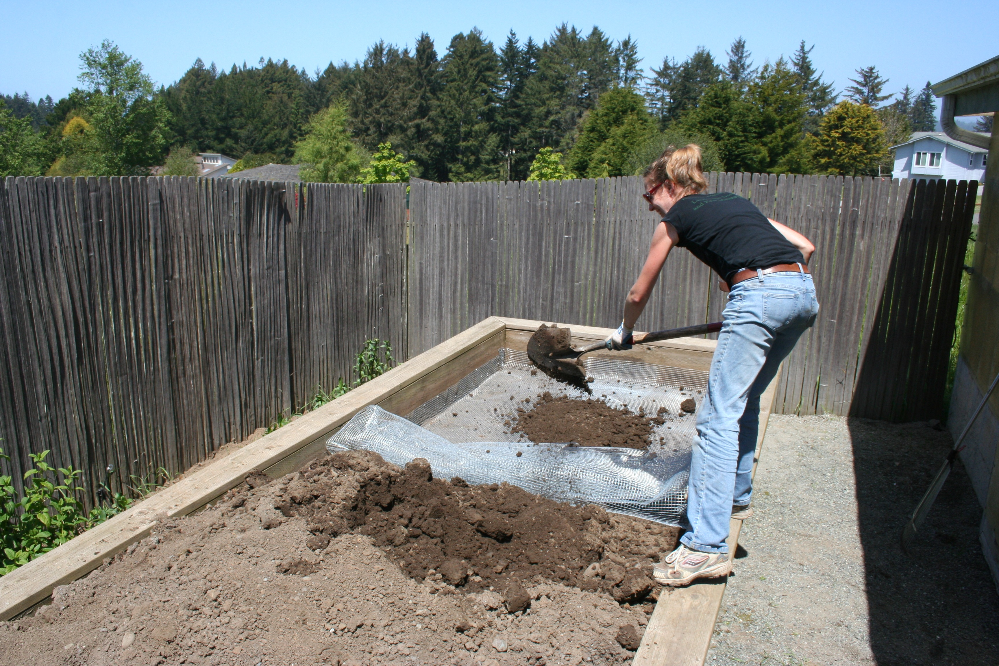 How To Gopher-Proof an Existing Raised Bed (Photo Tutorial
