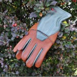 Lined Goatskin Gloves Keep Hands Warm For Winter Gardening