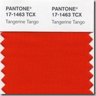 Pantone color of the year Tangerine Tango