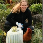 EZ-Walls Plant Protector Extends the Season and Keeps Chickens Off New Plants