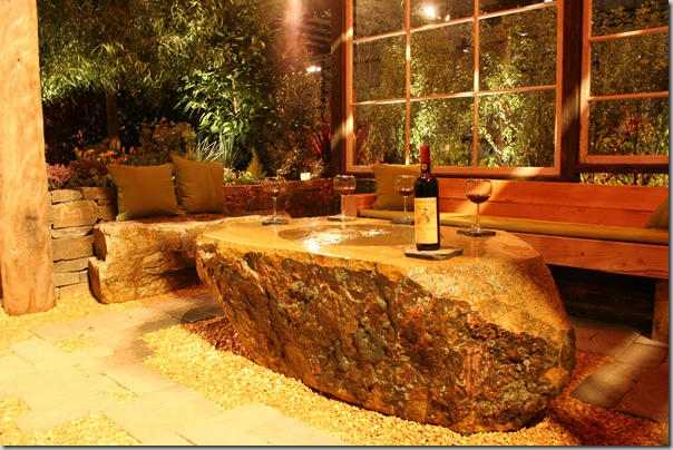 Post image for Luxurious Stone Fountain Table for Wine Country Gardens