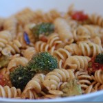 Summertime Cooking: Mustard Butter Pasta with Fresh Garden Vegetables