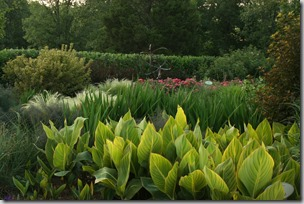 broad swathes at P Allen Smith's Garden Home
