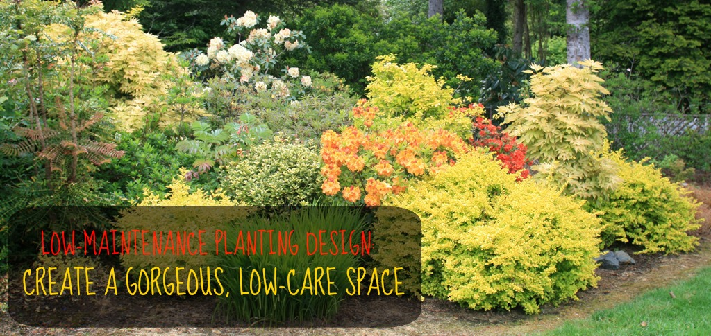 30 perfect landscaping for bushfire garden design and for Large low maintenance garden