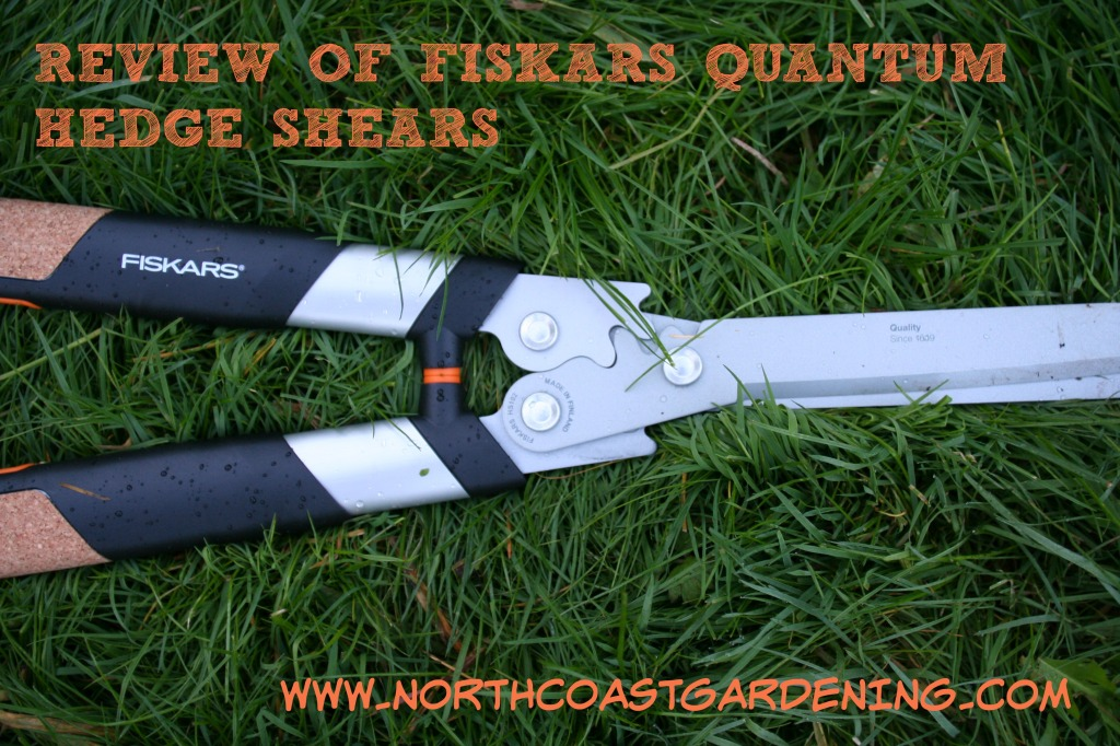 review of fiskars quantum hedge shears