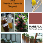 North Coast Gardening's 2015 Annual Garden Trends Report - gabion walls, native plant and other meaningful gardening, nonalcoholic botanical cocktails, ornamental weed, and more! www.northcoastgardening.com