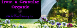 how to make liquid fertilizer from granular organic